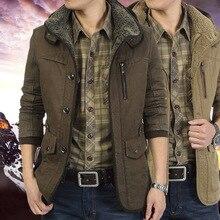 Осенне-зимняя куртка, мужские парки, Верхняя теплая водонепроницаемая куртка большого размера, плотная Мужская шерстяная куртка высокого качества на флисе с хлопковой подкладкой