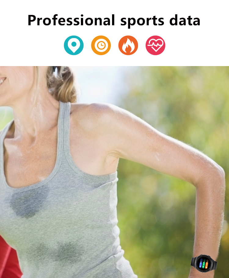 H304b33923ba840a3b50e27636adba8bbM MT3 Smart Watch Men Women Music Play 8G Memory Bluetooth Call Heart Rate Fitness Health Tracker Sport Waterproof Smartwatch