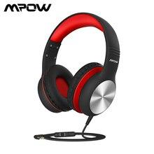 Mpow CH6 Pro Kinder Kopfhörer Folding Wired Kopfhörer Volumen Begrenzung Headset Mit Mikrofon Weihnachten Geschenk Für Kinder Mädchen