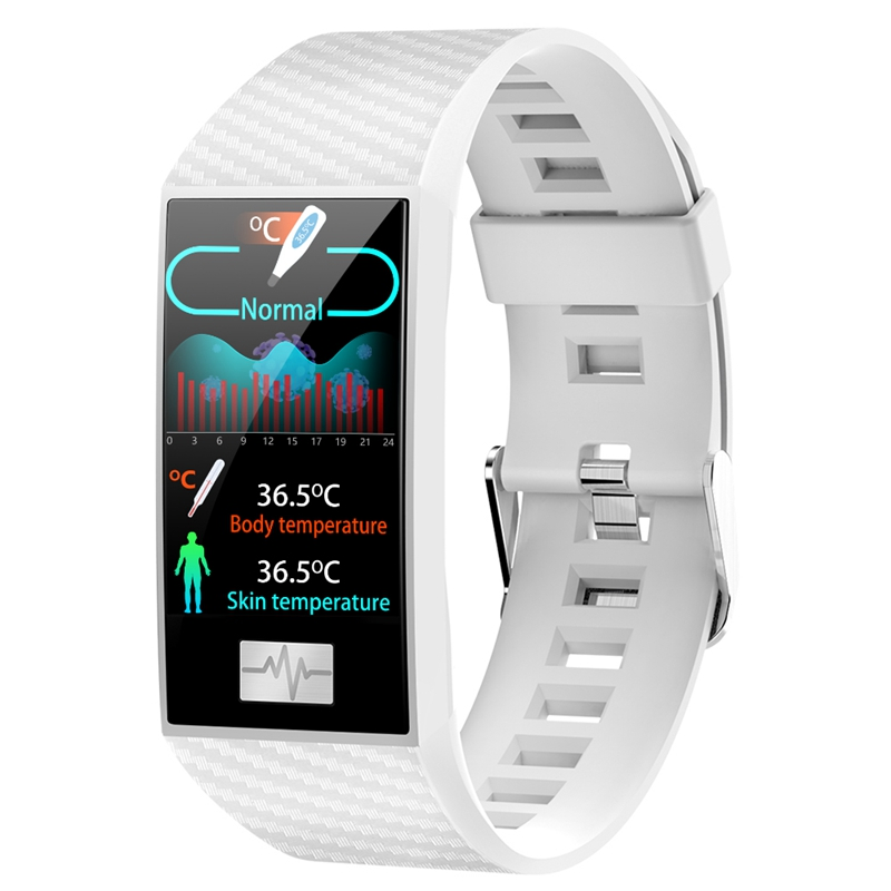 DTNO.1 <font><b>DT58</b></font> Pro 24 Hour Temperature Immunity Wristband Fitness Track Weather Altitude Outdoor Health <font><b>Smart</b></font> <font><b>Watch</b></font> for Women Men image