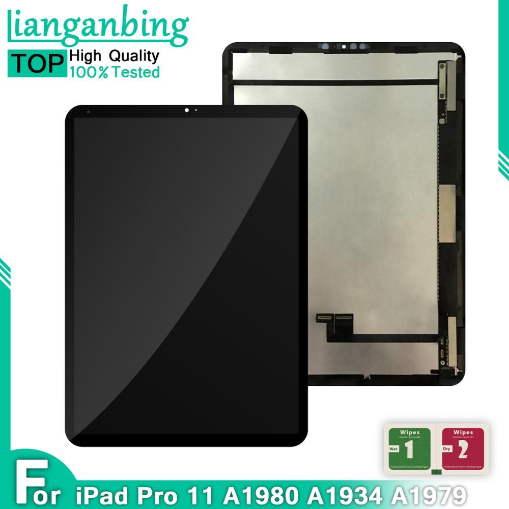 ЖК-дисплей для iPad Pro 11 A1980/A1934/A1979, ЖК-дисплей с сенсорным экраном, сменный экран в сборе для iPad Pro 11