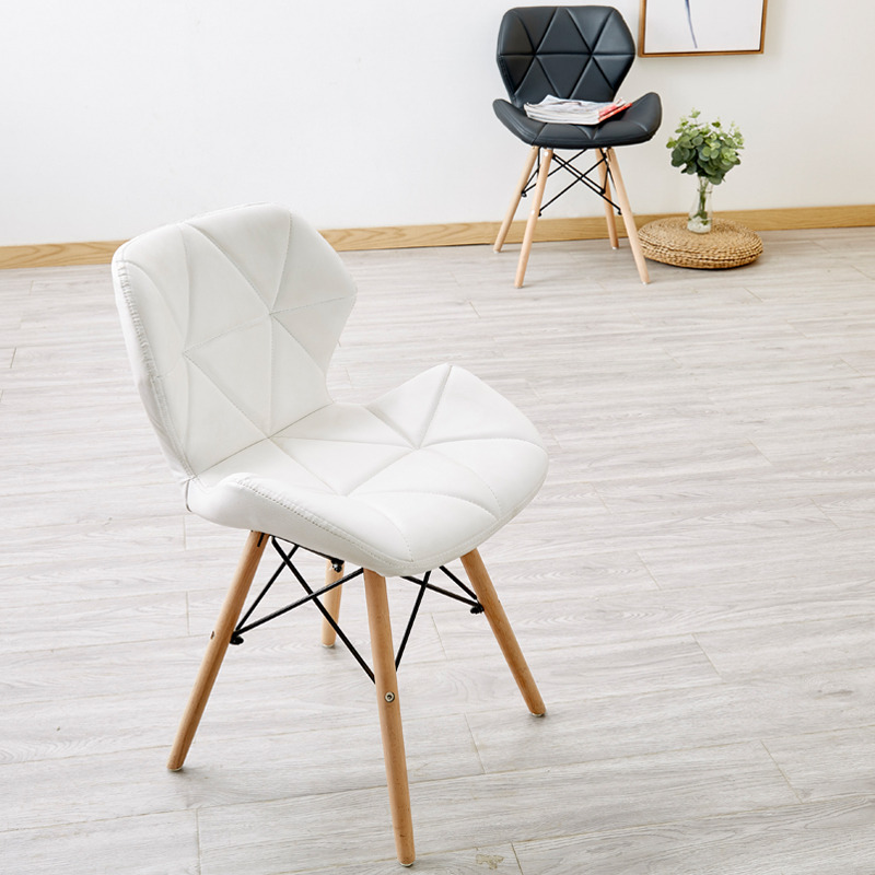 Nordic INS Restaurant Furniture Chair Dining Room Modern Pu China Iron Chair Wood Kitchen Dining Chairs for Dining Rooms Sofa