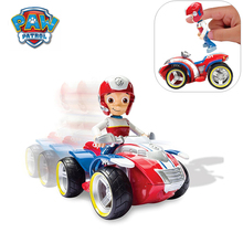 Paw Patrol Ryder Rescue Cars Patrulla Canina Rescue Racers Vehicle Ryder Anime Action modle Figure  Doll Kids Toys Gift