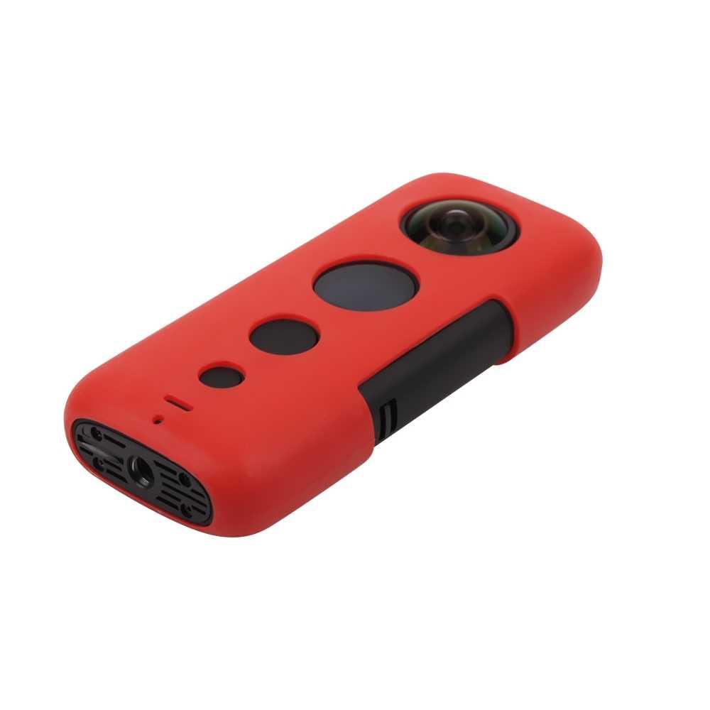 Siyah kamera destek tabanı panoramik Selfie cep spor kamera aksesuarları için Insta360 One X spor cep masa standı