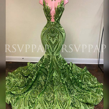 Long Prom Dresses 2020 New Arrival African Black Girl Sexy S