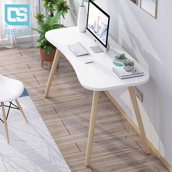 Ins Nordic Contracted Home Computer Desk Desk Student Desk Office Modern Small Family Model Bedroom Table