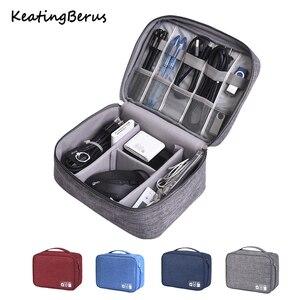 Портативная сумка для хранения данных USB для офиса и дома, Портативная сумка для мобильного ПК, водонепроницаемая сумка для бизнеса и путеше...