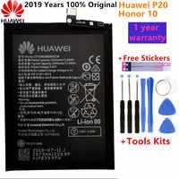 Hua Wei D'origine 3400mAh HB396285ECW Batterie De Téléphone Pour Huawei P20 Honor 10 COL-AL00 COL-AL10 COL-TL00 COL-TL10 COL-L29 + Outil