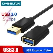 Cable extensor USB 3,0 para teclado, TV, PS4, Xbo, One, SSD, USB 3,0, 2,0, Cable de datos, Mini Cable de extensión USB