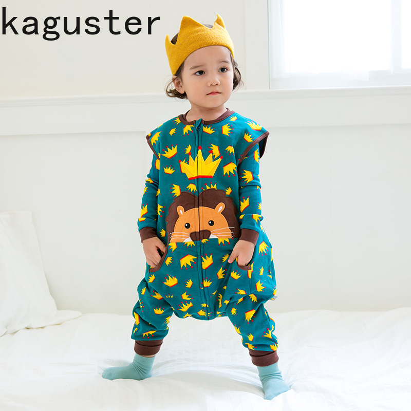 Baby boys girls Sleeping Bag For Newborn toddler kids Animal Winter autumn romper lion sleep sack animals Dinosaur wear