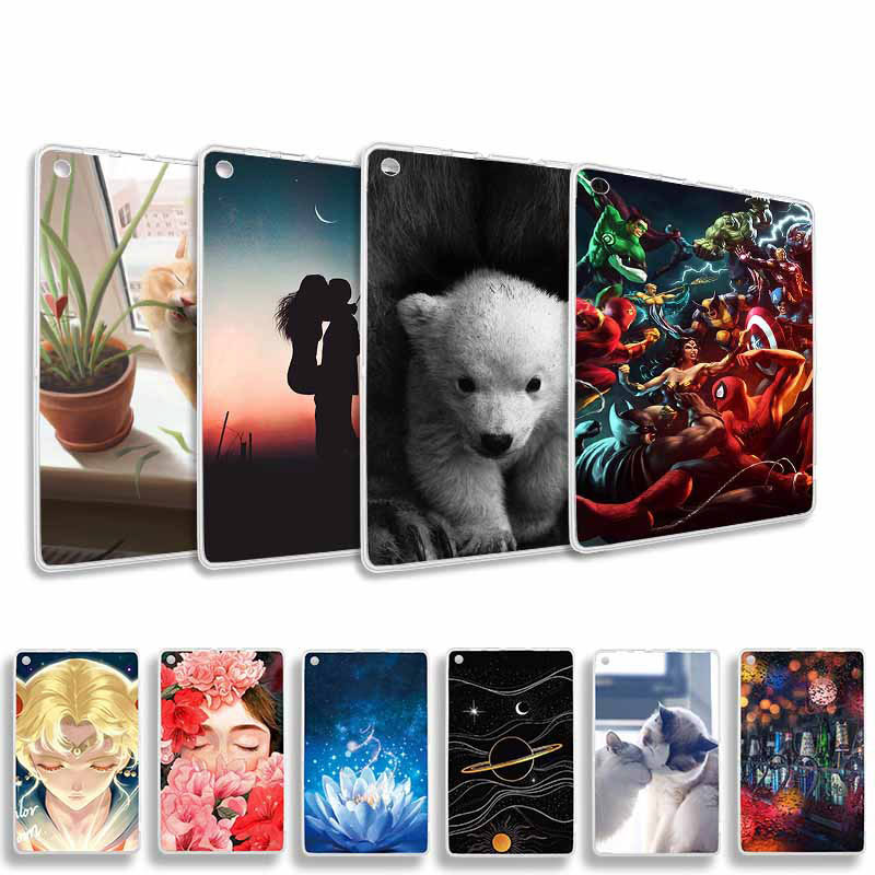 Coque Case For <font><b>Amazon</b></font> Kindle Fire HD 7 2015 HDX 7 7.0 8.9 Case Cover Painted Cartoon Tablet Cover On <font><b>Amazon</b></font> Fire 7 2015 7.0 inch image