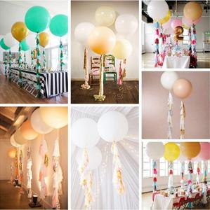 Image 4 - 5 pz/set pastello carta velina nappa ghirlanda arcobaleno unicorno Macaron pastello colore 1 ° compleanno festa Decor Baby Shower matrimonio