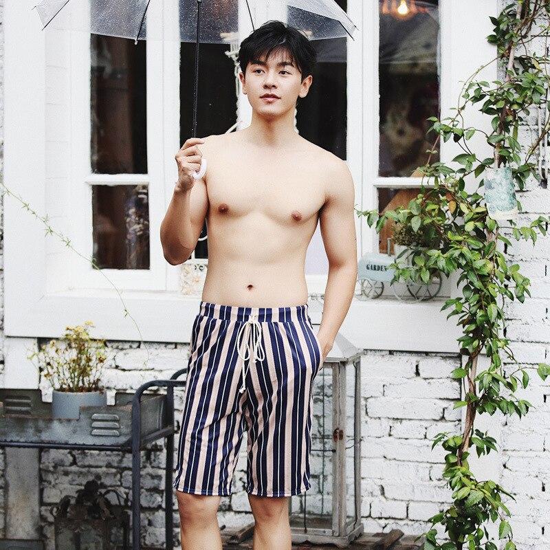 2019 New Style MEN'S Beach Pants MEN'S Swimsuit Hot Springs Swimming Trunks Short Boxer Quick-Dry Beach Swimming Trunks