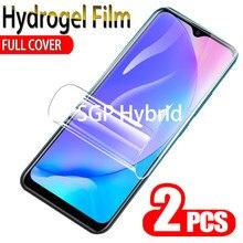 2 pçs filme de hidrogel para vivo y17 y12 y11 2019 protetor de tela exibição película protetora para vivo y17 y12 y11 y 17 12 11 vovi