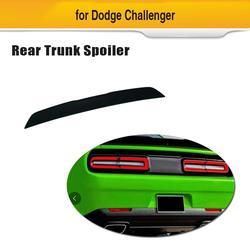 Auto Kofferbak Spoiler Wing Voor Dodge Challenger 2015 2018 ABS Matte Black Achterspoiler Boot Lip Wing-in Spoilers & vleugels van Auto´s & Motoren op