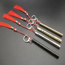Mo Dao Zu Shi Flute Keychain Metal Tassel Chen Qing Ling Wei Wu Xian Keychain
