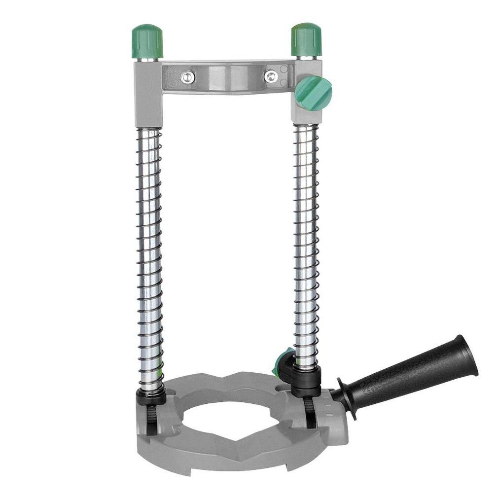 Электрическая ручная дрель для труб, держатель направляющей для сверления с регулируемым углом съемная ручка DIY деревообрабатывающий инструмент|Аксессуары для электроинструментов|   | АлиЭкспресс