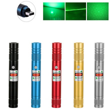 High Power Green Laser pointer USB Rechargeable Built-in battery Laser Sight 10000m 5mw Adjustable Focus Lazer laser Pen pointer [avatto] high quality rf 2 4ghz usb air mouse rechargeable powerpoint remote control ppt clicker presentation pointer laser pen