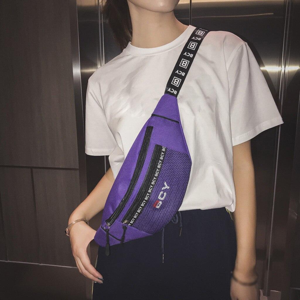 Young Women Waist Bag Unisex Waist Packs Chest Bag Fanny Pack Purse Chest Fanny Pack Cashier Belt Hip-hop Rock Boys Girl Bag #YY