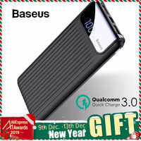 Baseus 10000mAh Carica Rapida 3.0 USB Accumulatori e caricabatterie di riserva Per iPhone X 8 7 6 Samsung S7 Edg Xiaomi Powerbank Batteria caricatore di Potere Della Banca QC3.0