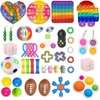 Dropshipping Fidget Toys 20/23/24/32PCS Pack Sensory Toy Set Antistress Relief Autism Anxiety Anti Stress Bubble for Kids Adults