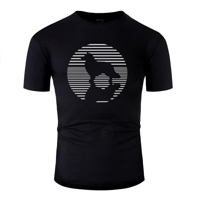 Leisure Collie Dog Lover Tshirt For Mens 2020 Graphic O Neck Solid Color Border Collie Men Tshirts Cotton Short-Sleeve Hip Hop