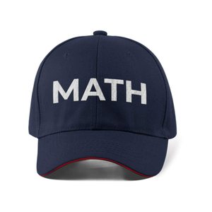 Letter Math Andrew Yang 2020 Branded Baseball Caps Unisex Embroidered Adjustable Outdoor Snapback Sun HatHat Hip Hop Hats(China)