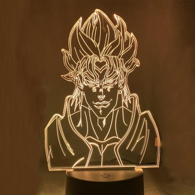Acrylic Night Lamp Anime