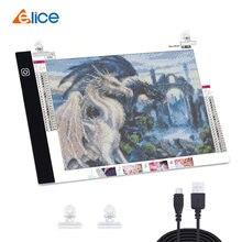 Планшет elice a4 a5 со светодиодный светильник тбокс для рисования