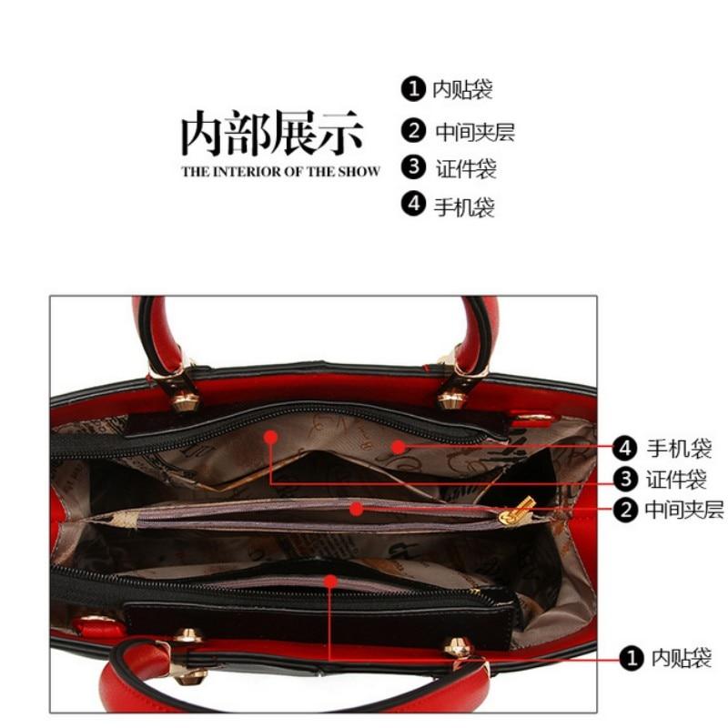 100% женские сумки из натуральной кожи 2020 новая женская сумка в черном и белом цвете женская модная сумка-мессенджер через плечо сумка