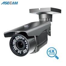 Ip камера видеонаблюдения 5mp h265 варифокальный зум 28 12 мм