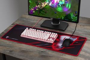 Image 5 - Tastiera meccanica Motospeed CK82 interruttore rosso blu tastiera da gioco RGB retroilluminazione a LED USB cablato 87 tasti per Tablet Desktop Gamer