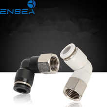 Air Pneumatic Pipe Connector 10mm 8mm 6mm OD Hose Tube 1/8