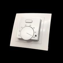 Me87 controlador de temperatura do termostato ac220 da sala de aquecimento do assoalho com sensor de 3 medidores