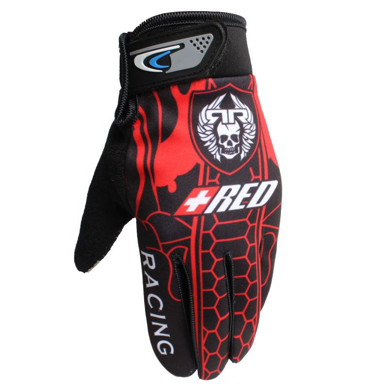 Full Finger Motorcycle Gloves Screen Touch Guantes Motorbike New Motocross Gloves Non-slip Sunscreen Outdoor Motorcycle Gloves