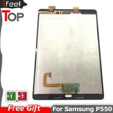 100% Tested Working LCD For Samsung GALAXY Tab A 9.7 P550 LCD Display + Touch Screen Digitizer Replacement
