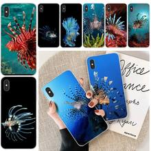 Wumeiyuan Lionfish Cover Soft Shell Phone Case For iphone 6 6s plus 7 8 plus X XS XR XS MAX 11 11 pro 11 Pro Max Cover ljhydfcnb wave spray cover soft shell phone case for iphone 6 6s plus 7 8 plus x xs xr xs max 11 11 pro 11 pro max cover