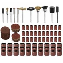 150Pcs/Set Mini Electric Drill Grinder Grinding Polishing Bit Accessories Kit U4LA