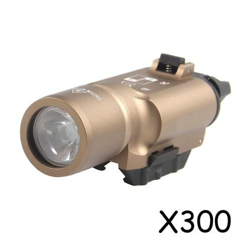 x300 tatico lanterna a prova d agua luz arma pistola lanterna glock 19 luz para