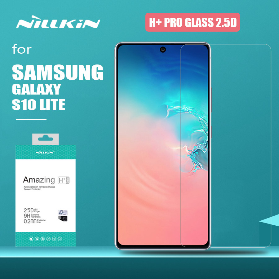 For Samsung Galaxy S10 Lite Glass Nillkin H+ Pro 2.5D Tempered Glass Screen Protector For Samsung Galaxy S10 Lite HD Glass Film