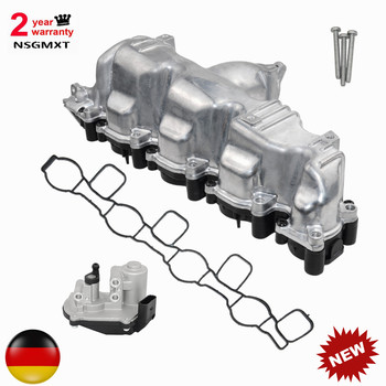 AP01 New INTAKE MANIFOLD 03L129711E with FLAP ACTUATOR Motor For AUDI A3 A4 A5 A6 VW SEAT SKODA 2.0 TDI