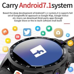 "Image 3 - JingTider V9 4G Смарт часы MTK6739 4 ядра 3 ГБ + 32 Гб 1,6 ""X360 Smartwatch 800 мА/ч, два 5.0MP Камера GPS Bluetooth Android 7,1"