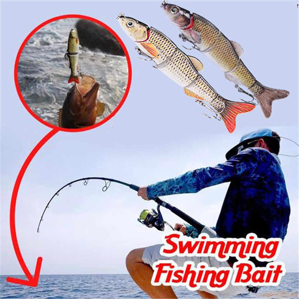 Pesca Wobblers cebo duro Artificial Crabkbait anzuelos únicos pesca lubina carpas y pescar lucios Swimbait Artificial Isca Artificial #3