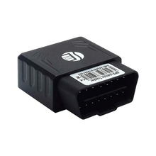Car 16PINS OBD GPS Tracker Plug Real Time Locator Vehicle Tracking Device with SOS Alarm Mini
