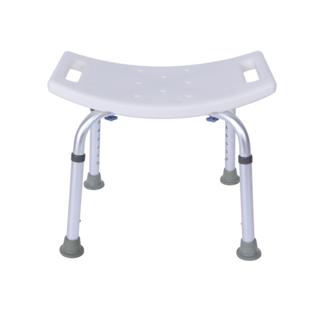 Aid Seat Without Back Chair Height Adjustable Non Slip Toilet Seat Disabled Home Adult Elderly Pregnancy Kids Bath Shower Stool 2