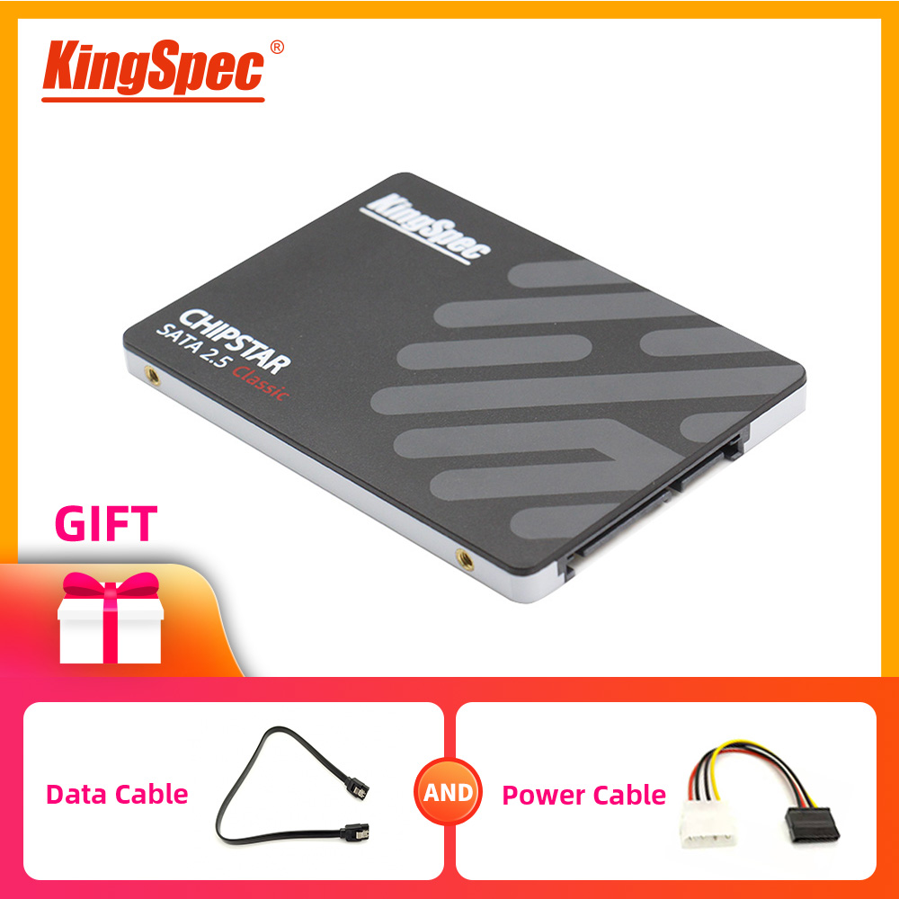 KingSpec ssd 2.5 SATA3 SSD de 120gb 240gb 480gb 960gb SSD 128gb hdd Interno de 256gb 512gb sd 2 1tb tb Laptop desktop disco de estado sólido