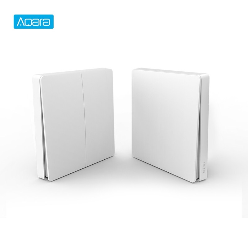 Aqara Wireless Switch Smart Light Control Smart Switch Wifi 2.4GHz Wireless Double Key Remote Control By Mi Home App