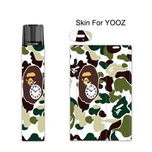 Camouflage Sticker Printing Skin For YOOZ Cover Film Case for E Cigarette)