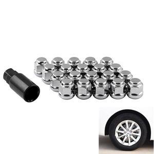 20 шт./компл. автомобильные аксессуары гайка модификации автомобиля для Honda гайка M12 * 1,5 Противоугонная гайка стальные стопорные гайки колеса