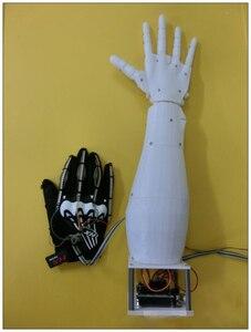 Image 2 - DIY Roboterarme Bionic Manipulator Roboter Lenkgetriebe Controller DAMPF Kits 3D Drucker für Inmoov Ardui